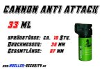 Pfefferspray - Cannon Anti Attack - Inhalt: 33 ml